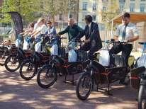 Les vélos-cargos genevois seront parqués chez des «hôtes», des postes, Genève Roule, des cafés, chez qui les usagers pourront se faire remettre les clés et les batteries.